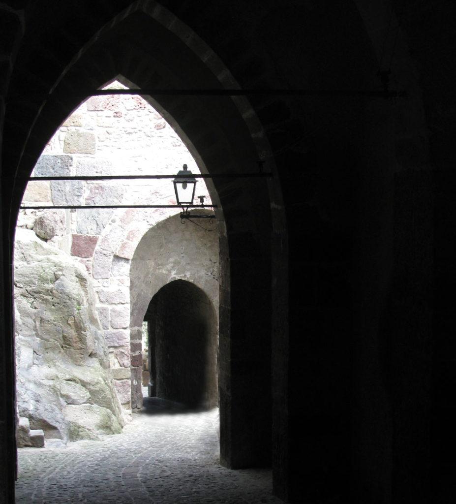 Castello di Lipari - interno