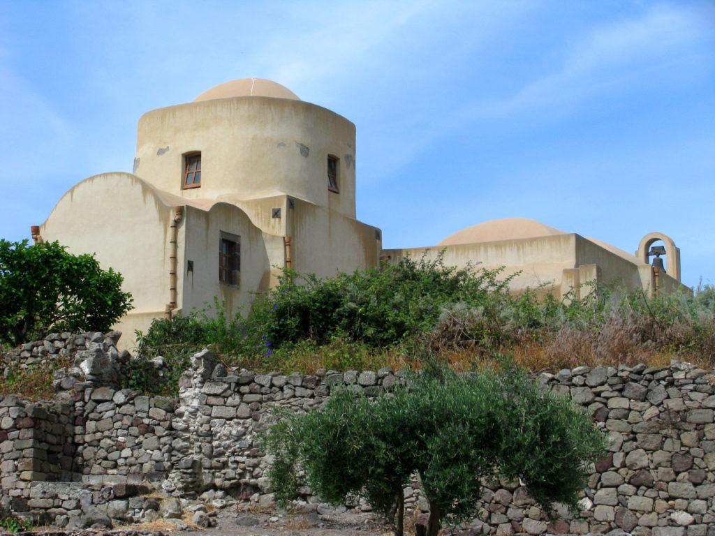 Castello di Lipari - vista dal mare