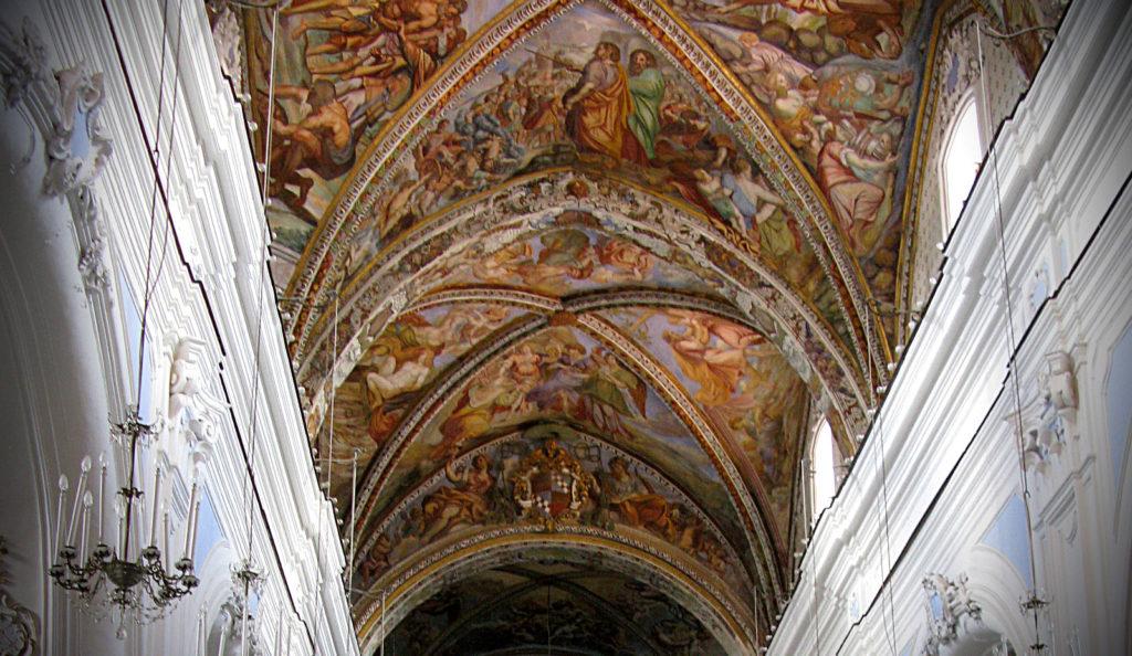 Volte navata centrale -  Cattedrale di San Bartolomeo