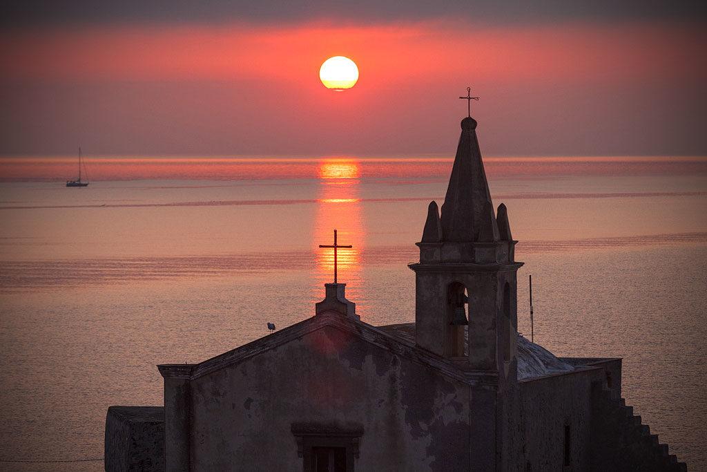 Chiesa di San Giuseppe al tramonto
