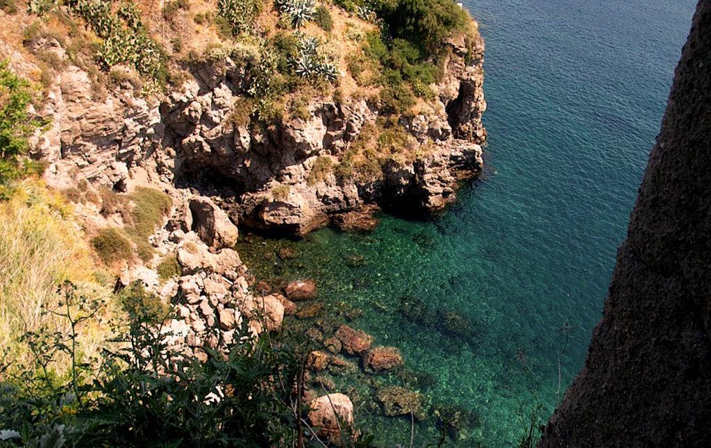Vista mare dal castello di Lipari