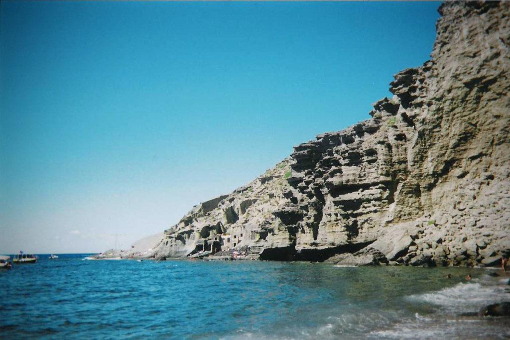Spiaggia di Pollara mare
