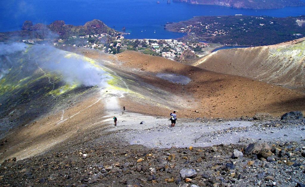 Scalata al cratere