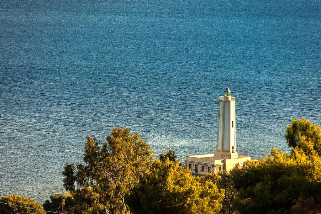Spiaggia del Gelso dall'alto