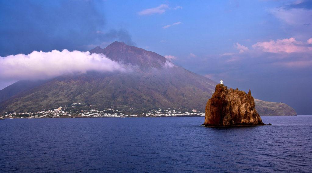 Stromboli dal Mare